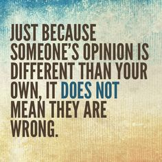 just-becuase-someones-opinion-is-different-than-your-own-it-does-not-mean-they-are-wrong